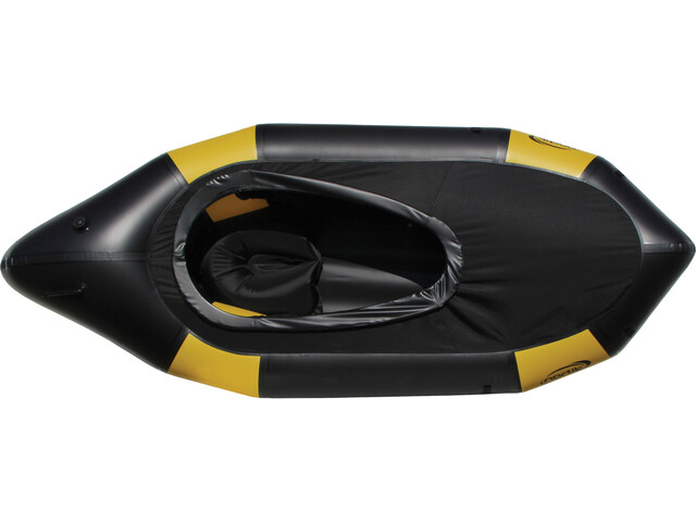 nortik TrekRaft Boat with Hood yellow/black